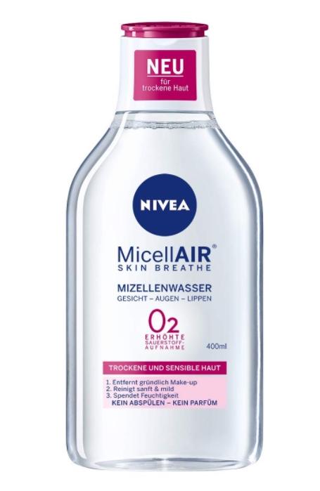 Nivea, Płyn micelarny do demakijazu, 400 ml